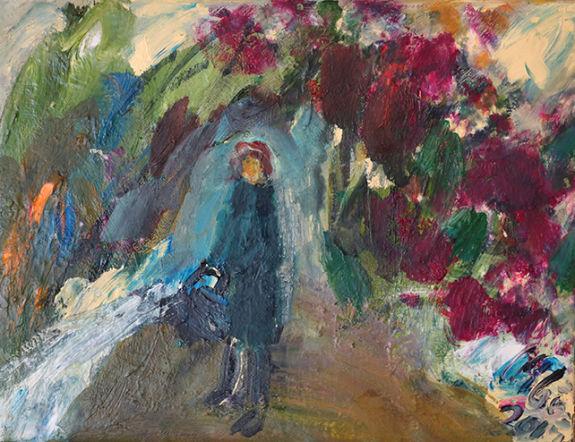 Christl Maria Goethner, Malerei, Leipziger Schulex