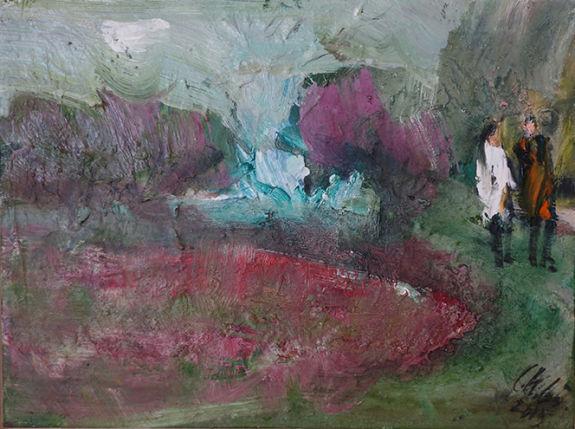 Christl Maria Goethner, Malerei, Leipziger Schule, Maerzx